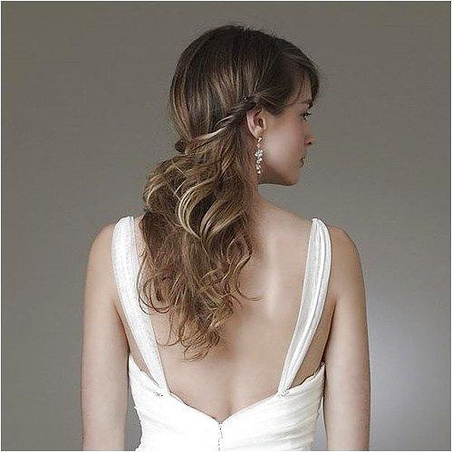 half up half down hairstyle for fine hair  click on the