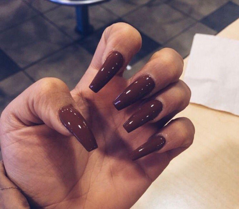 Maroon nails fall fallcolors fallnails