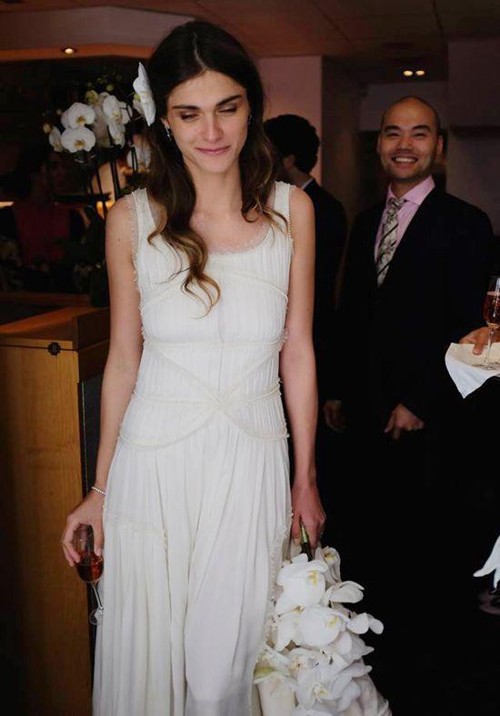La sencilla boda de la modelo Elisa Sednaoui y Álex Dellal, ex novio de  Carlota Casiraghi 5d3cbf9a89