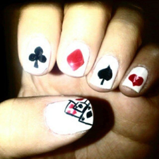 A jugar poker..