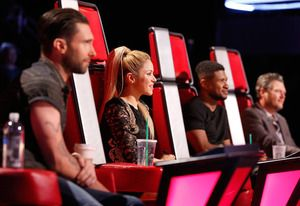 The Voice Exclusive Video: Shakira Is Ready to Throw a Few P