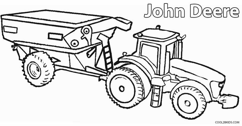 Printable John Deere Coloring Pages For Kids | Cool2bKids | Basteln ...