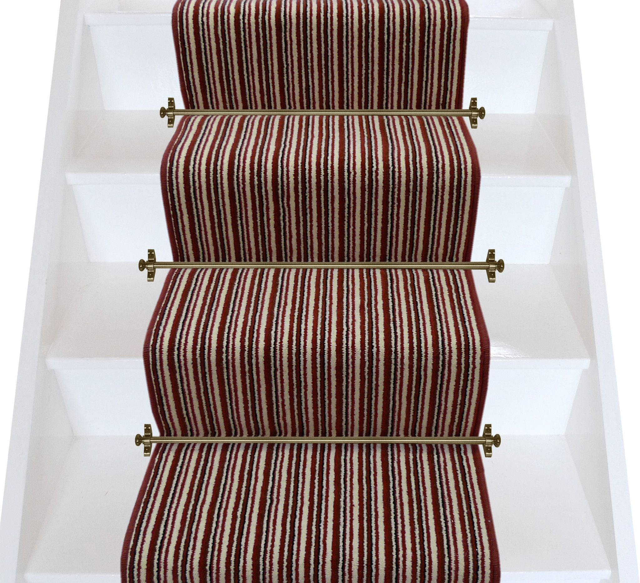 Axminster Carpets Train Stripe Salsa Stripe Stair Runner