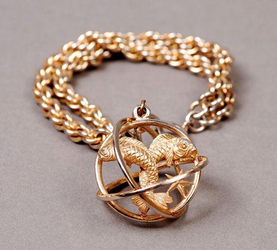 Trifari Pisces Bracelet Zodiac By Chrononautmercantile