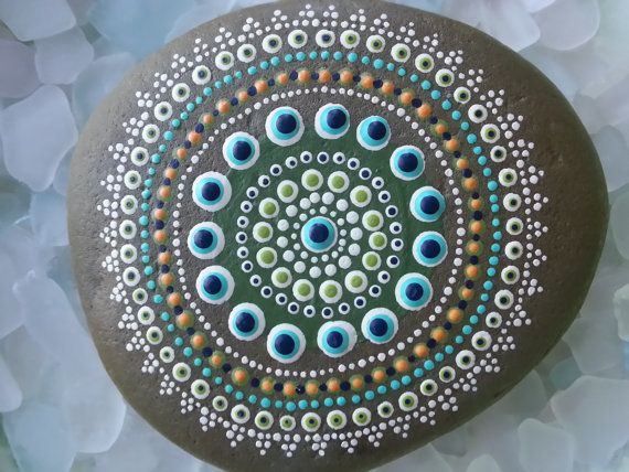 Dot Painted Stones/Painted Rocks/The Lakeshore Store