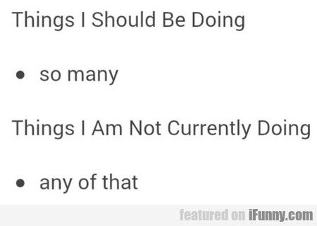 funny ways to answer what are you doing