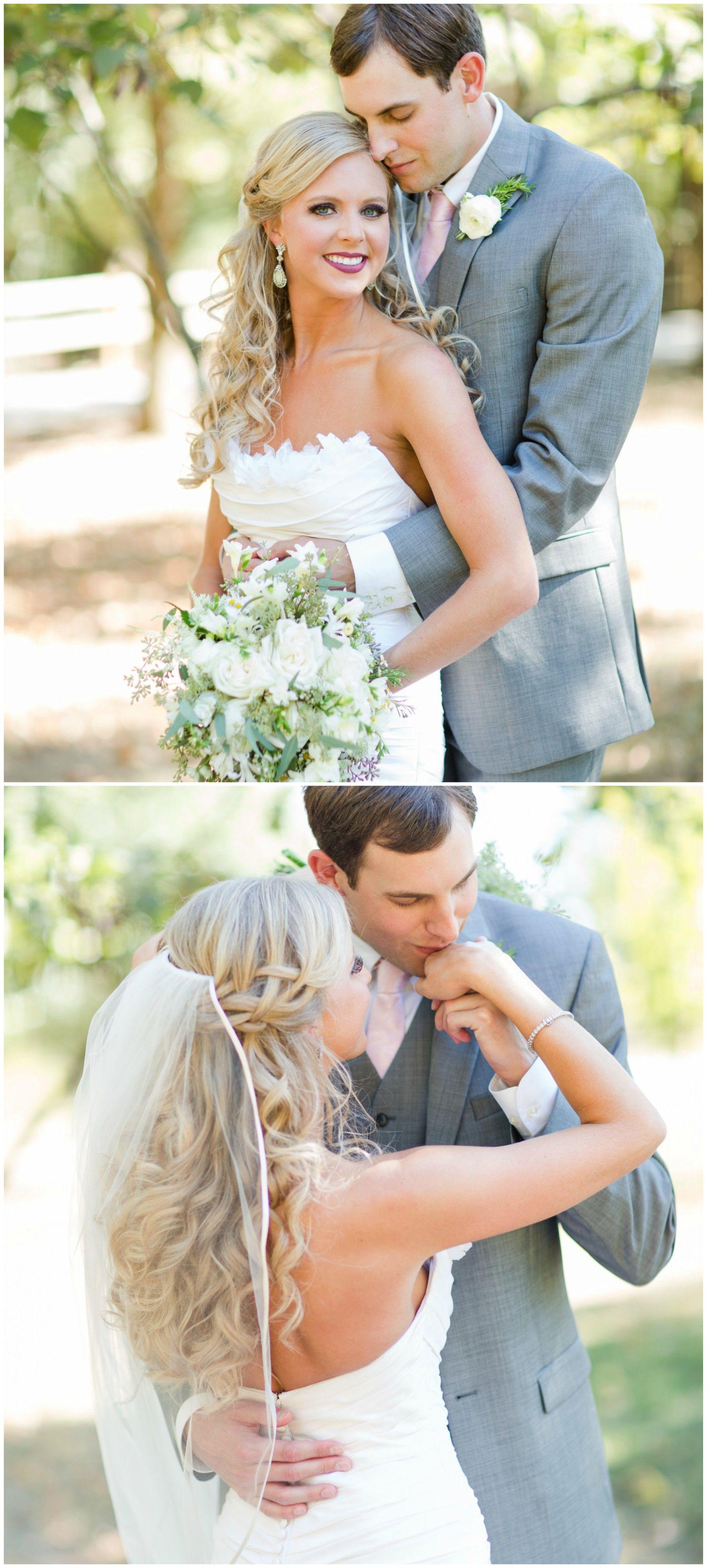 wedding hair ideas, curly blonde bridal hair, braided