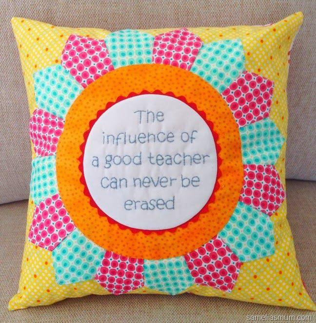 Stitched Teacher Appreciation Gift {Tutorial}