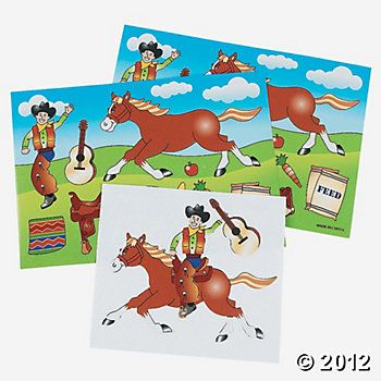 Make-A-Horse Stickers