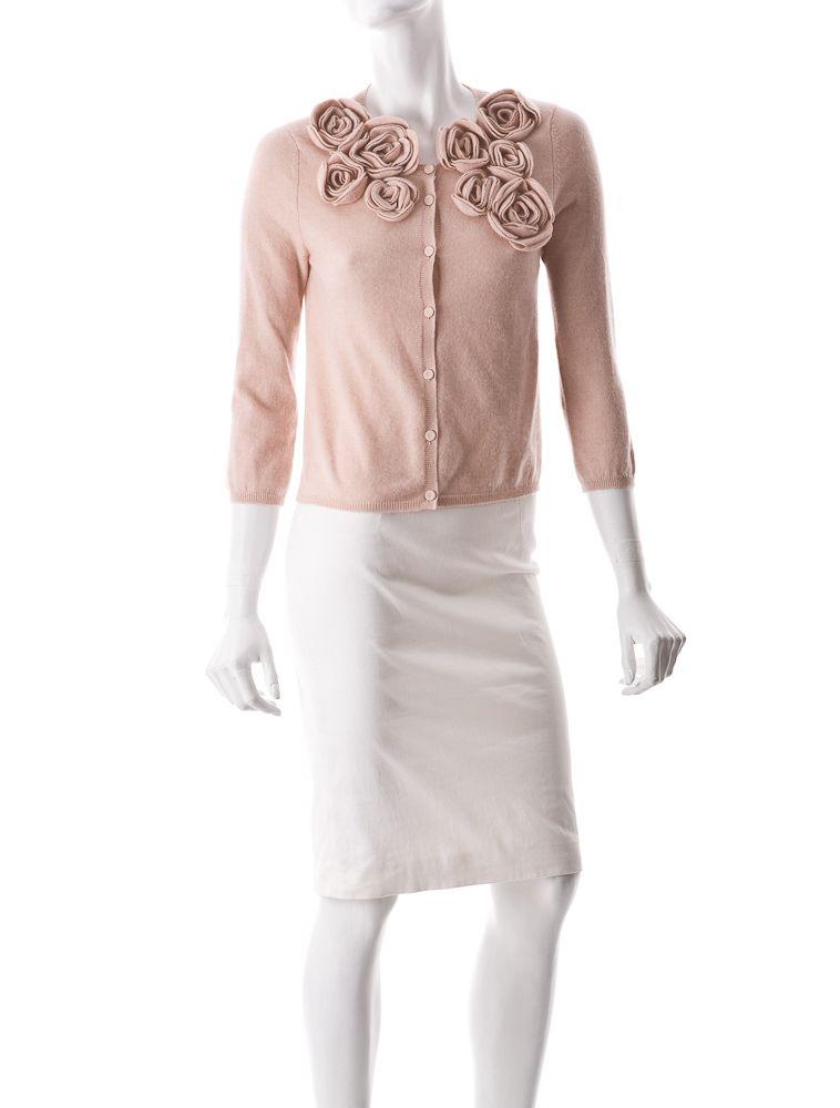 Spring Looks  Valentino Flower Cardigan♥♥♥