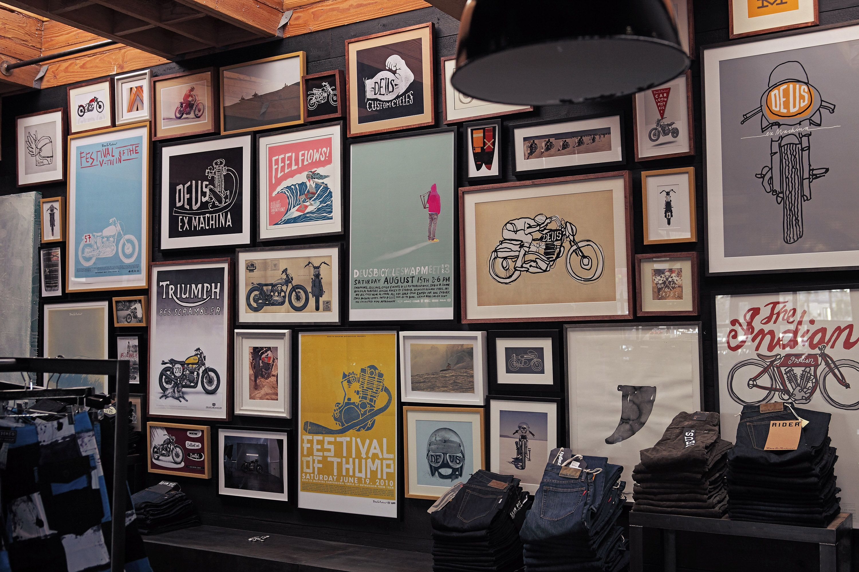 the emporium of postmodern activities art shop. Black Bedroom Furniture Sets. Home Design Ideas