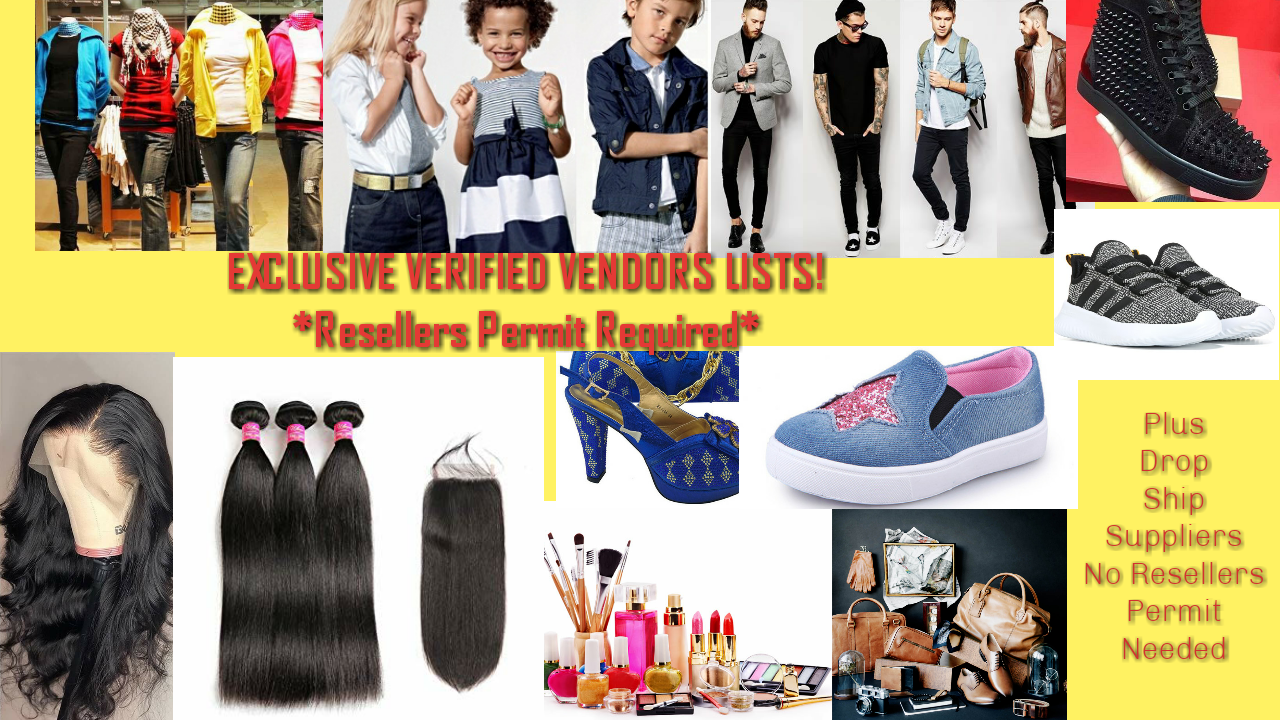 All Vendors in 2020 Fashion, Women, Wholesale jewelry