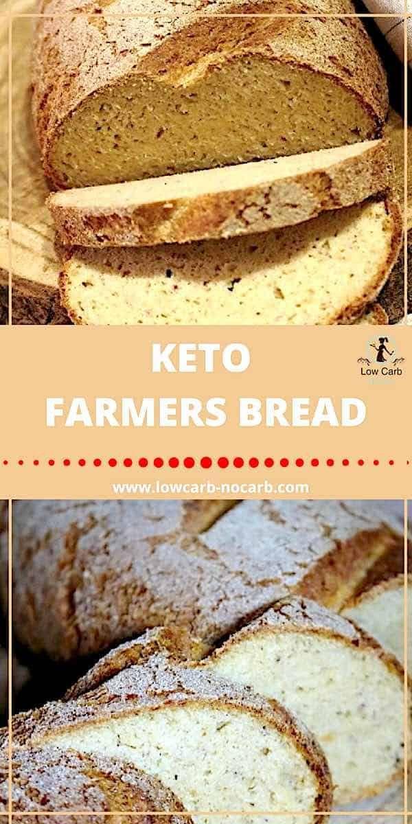 Dieses Keto Low Carb Bauernbrot ist das beste Brot aller Zeiten