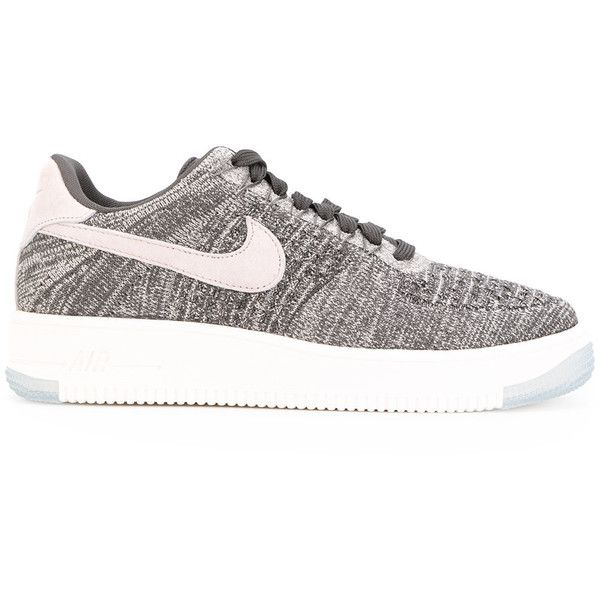 quality design 5311c a7ea3 Nike Air Force 1 Flyknit Low sneakers ( 154) ❤ liked on Polyvore featuring  shoes