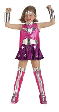 #Girls Pink #Wonder #Woman #Costume  sc 1 st  Pinterest & Girls Pink #Wonder #Woman #Costume | !! Cute Toddler Superhero ...