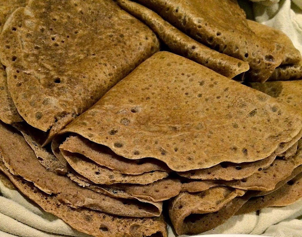 The riddle of Ethiopian injera: Is sourdough starter the answer? Yes!