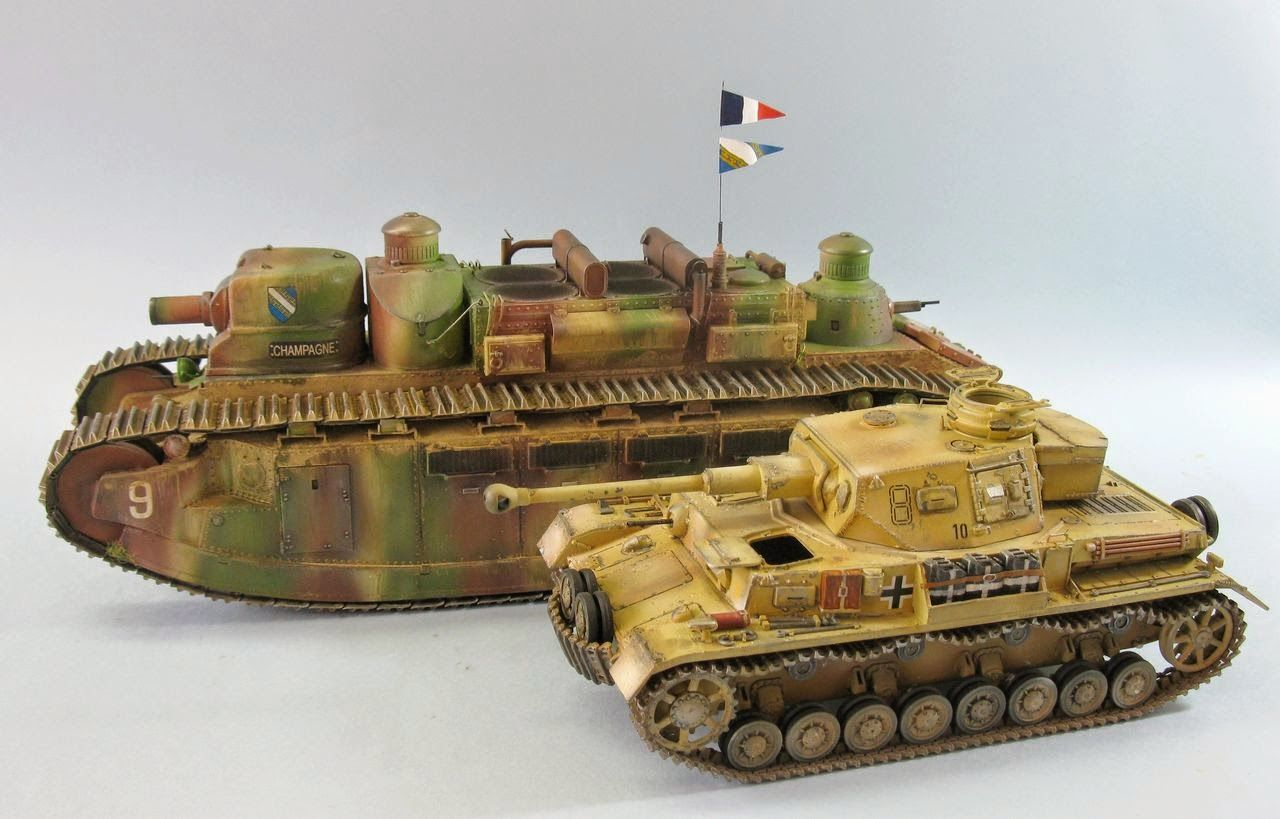 Panzerserra Bunker- Military Scale Models in 1/35 scale: Char FCM 2C bis - Super-heavy French tank prototype