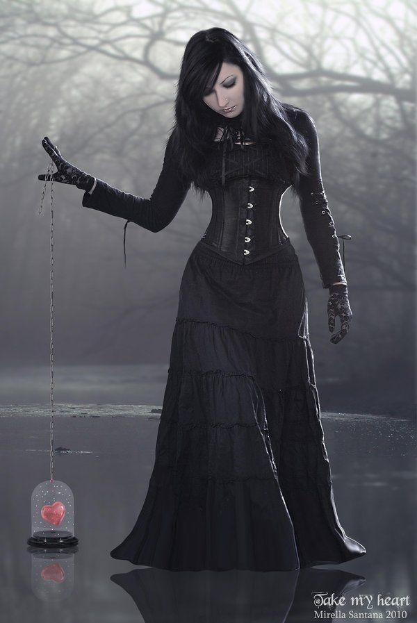 Black Broom Skirt 33