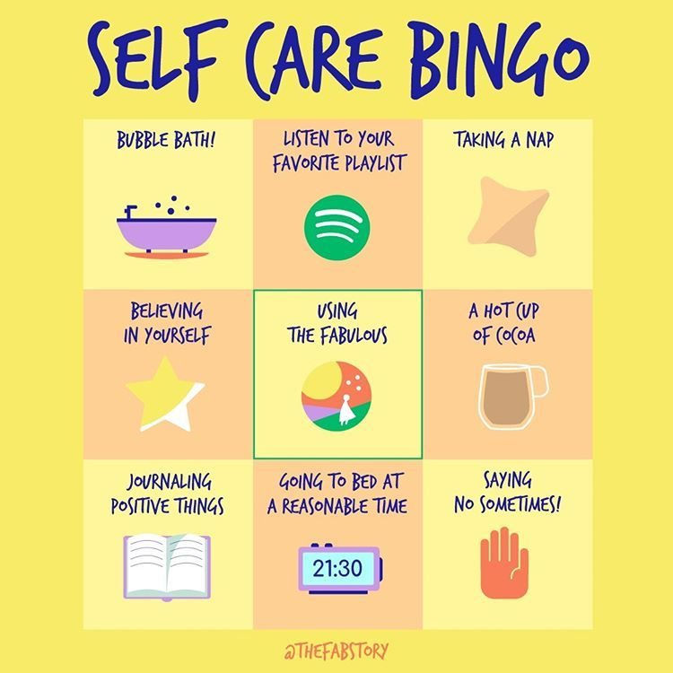 Happy SelfCareSaturday! How many items can you check off