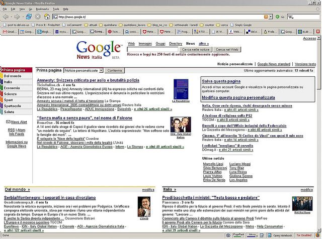 google news italia