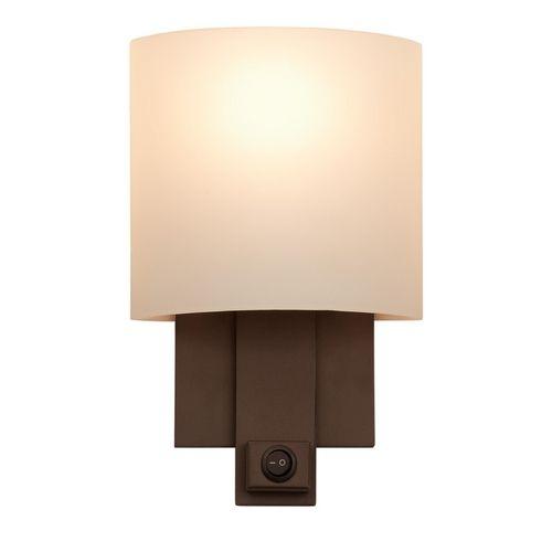Kalco Lighting Espille Bronze Switched Sconce   4651BZ   Destination Lighting