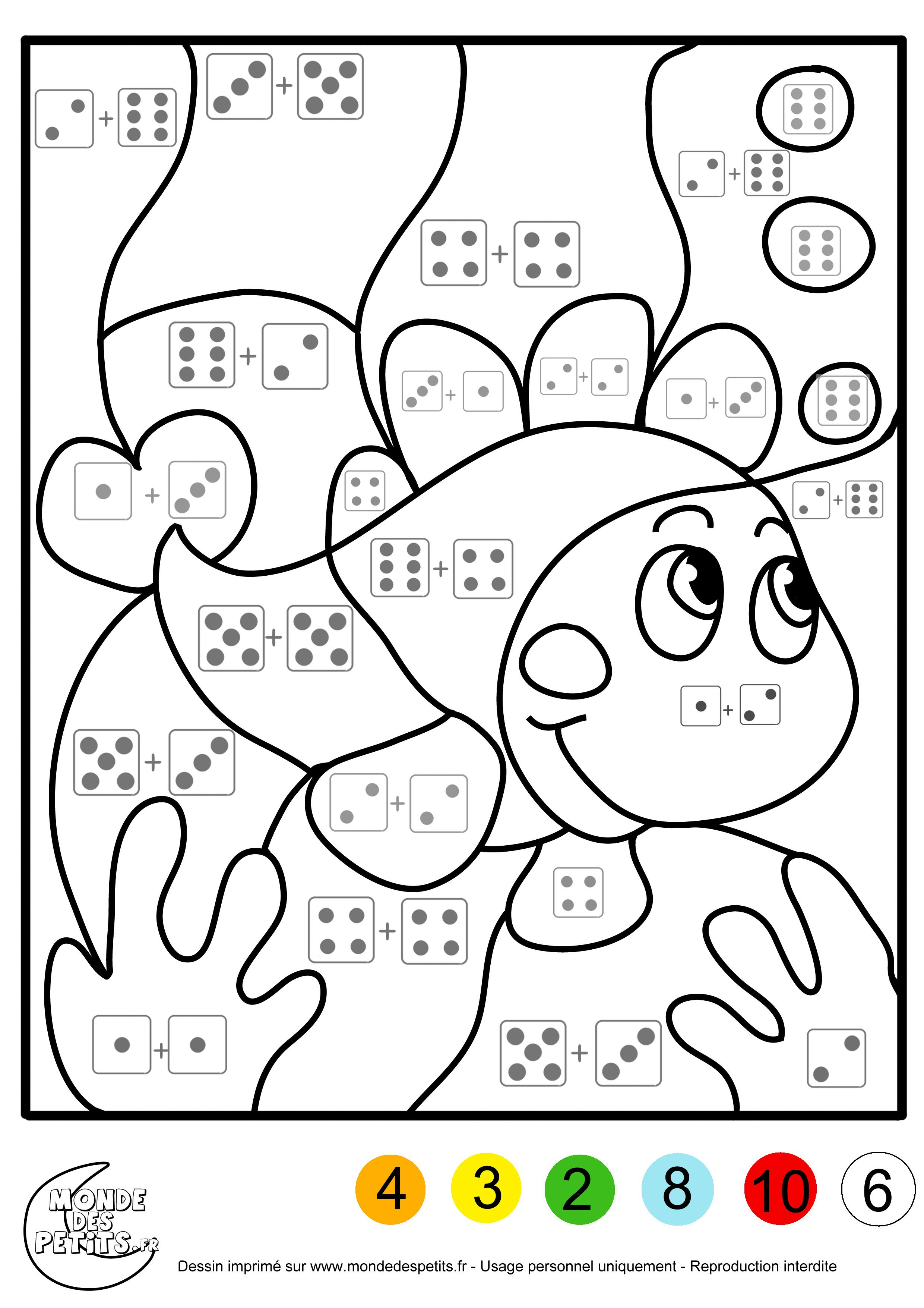 Buzz23.com Coloriage à imprimer  Math lessons, Homeschool math