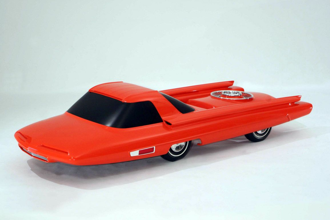 Ford Nucleon concept car model 1962 - From the Collections of The Henry Ford & Ford Nucleon concept car model 1962 - From the Collections of The ... markmcfarlin.com