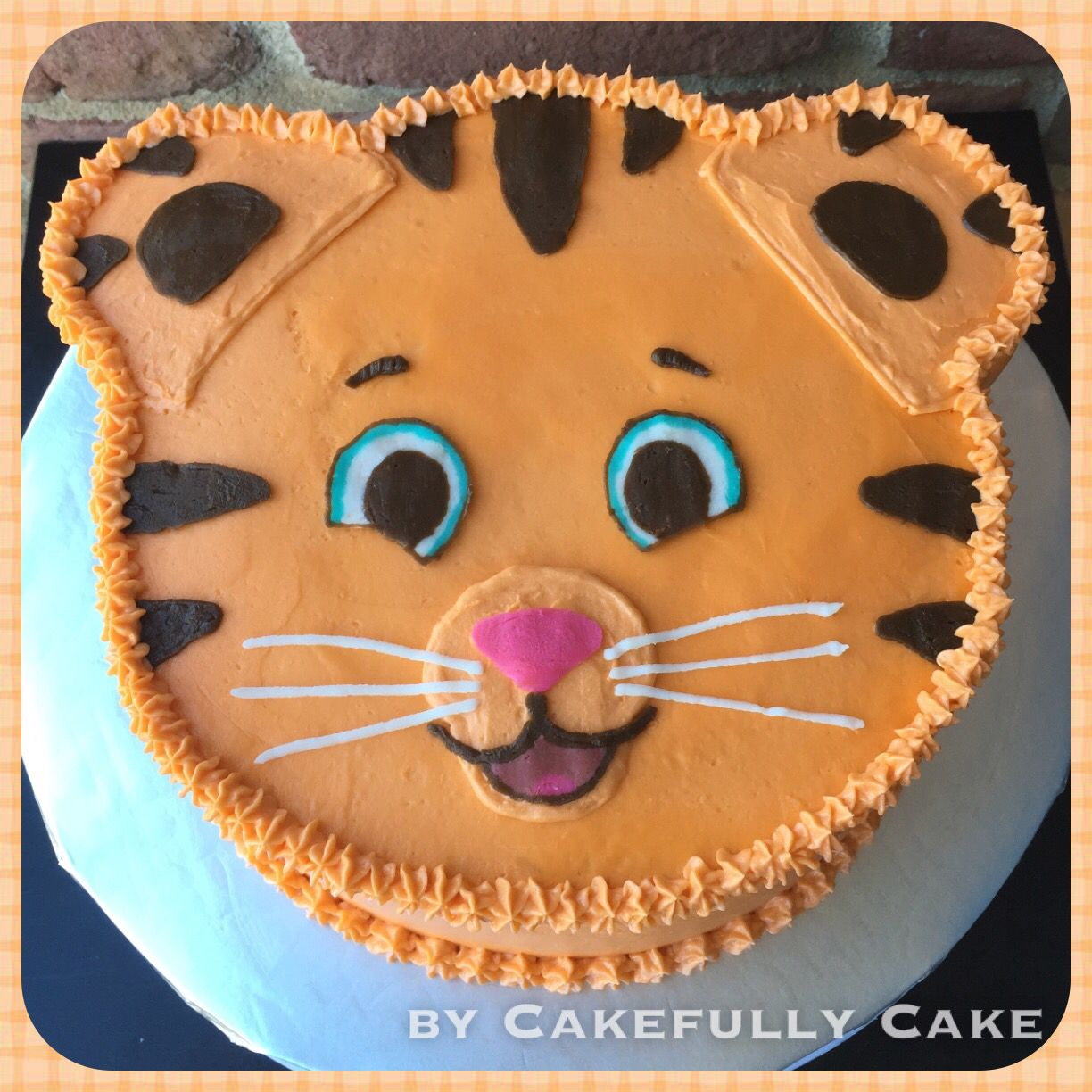 Birthday Cake Images For Daniel : Daniel Tiger Cake -by Cakefully Cake Cakefully Cake ...