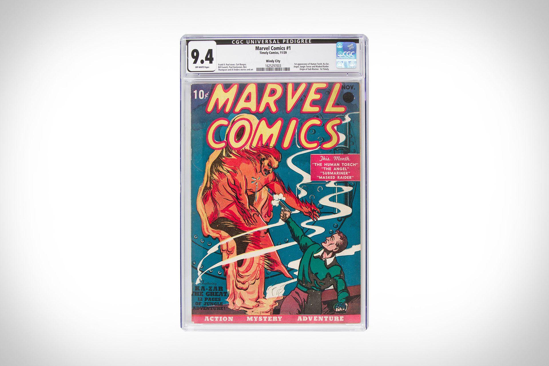 Highest Graded Marvel Comics 1 Sells For Over 1 Million