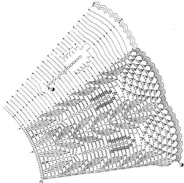 Abanicos de crochet - Imagui   Crochet Abánicos   Pinterest ...