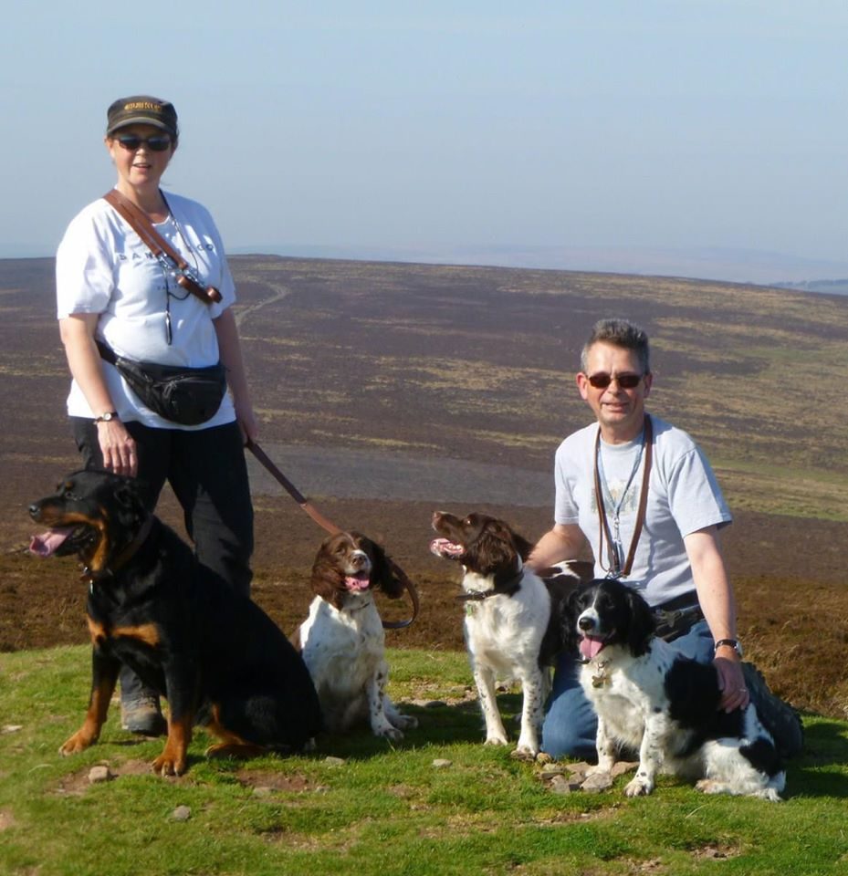 Dogs are welcome and each cottage has its own enclosed gardens. We also offer a dog sitting service if you need to go out without them. Court Farm Holiday Cottages, Exford, Minehead, Somerset, England.