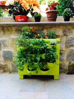 Creare Giardini: Un vaso per fare l\'orto verticale sul balcone[PDF ...