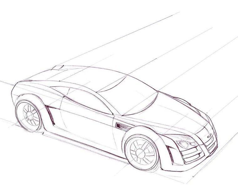 Como dibujar coches [fácil & rápido][resultados][origi