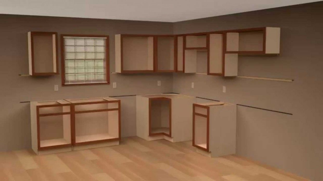 Hanging Kitchen Cabinets On Concrete Walls Cabinets Concrete Hanging Kitchen Installing Kitchen Cabinets Installing Cabinets Best Kitchen Cabinets