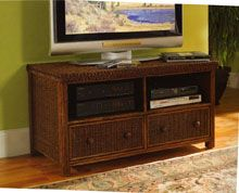 Rattan And Wicker Tv Cabinets