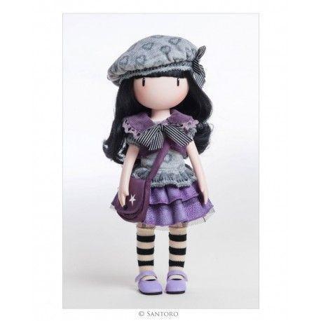 Muñeca Gorjuss articulada Little Violet