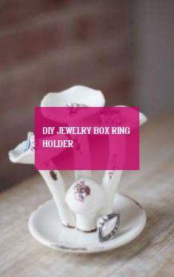 diy jewelry box ring holder