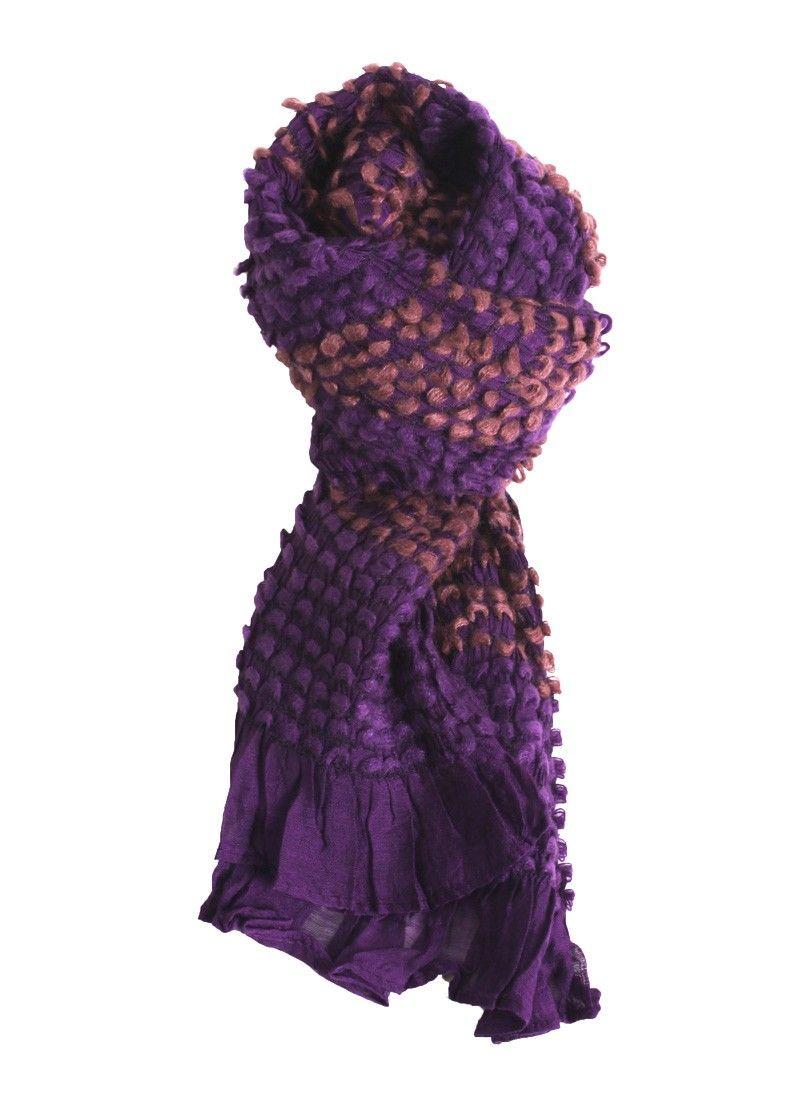 Pop of Purple Scarf  $18.00