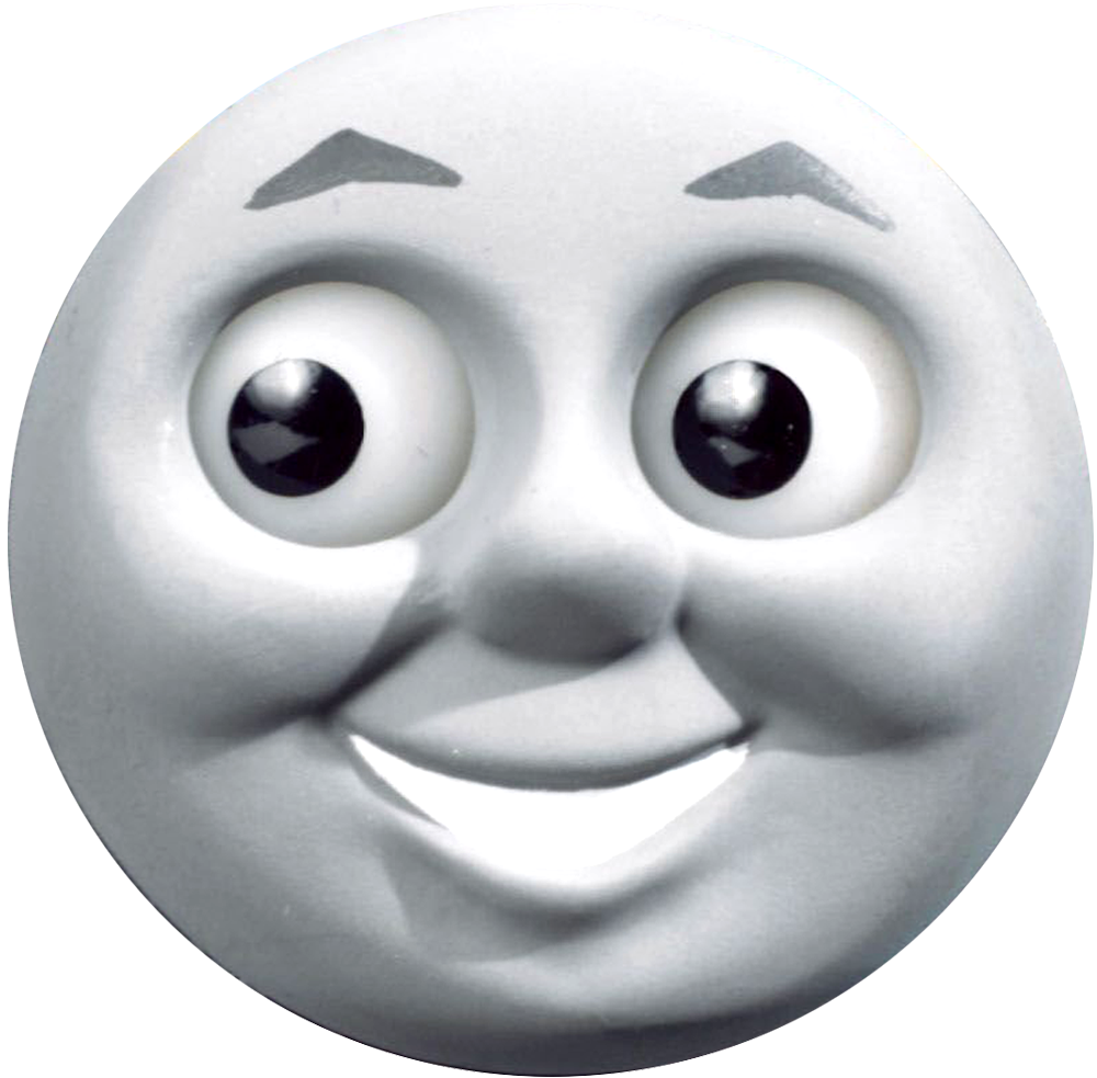 Monster image within thomas and friends printable faces
