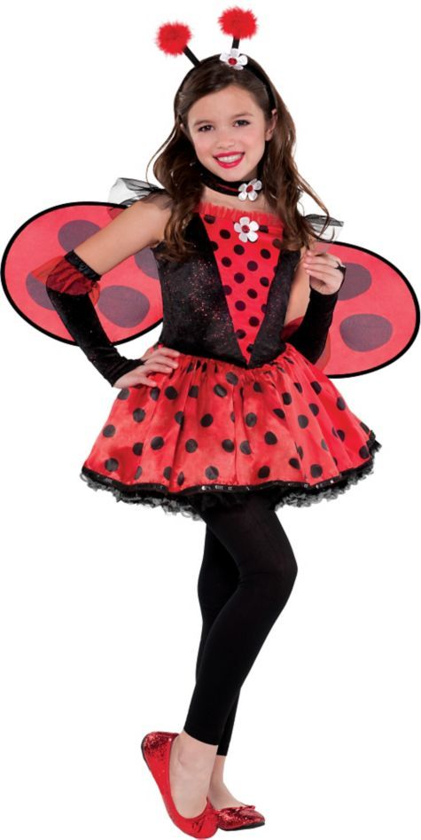 Girls Totally Ladybug Costume - Party City  sc 1 st  Pinterest & Girls Totally Ladybug Costume - Party City   Halloween Costume Ideas ...