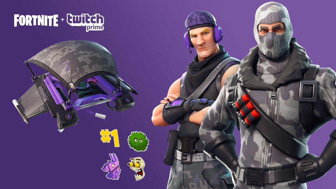 Squad Up In Fortnite With The Exclusive Twitch Prime Pack