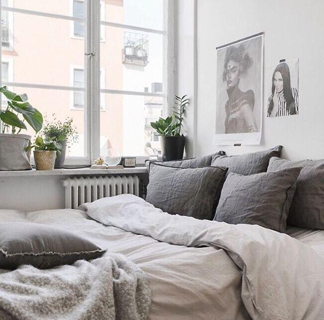 Cozy bed Schlafzimmer gestalten, Wg zimmer, Wohnen
