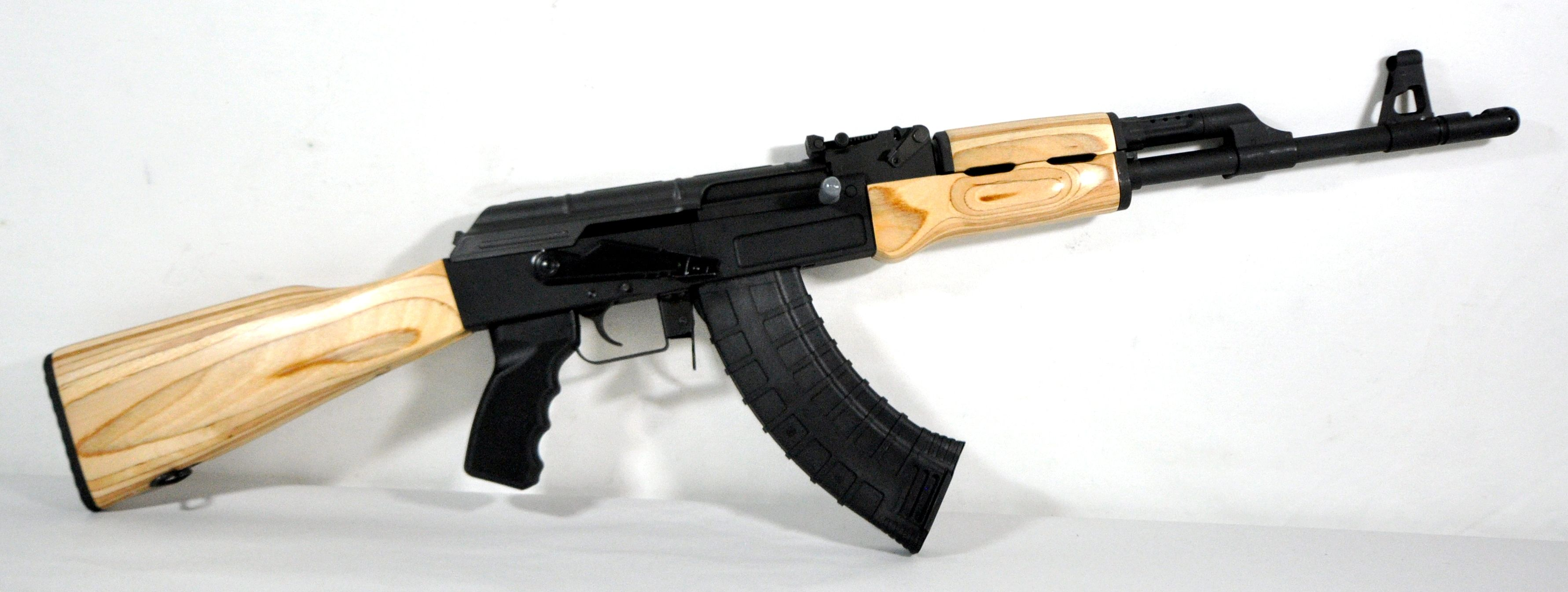 Cai Centurion C39 Blonde Laminated Wood 7 62x39 New In Box Blonde Laminate Blonde Wood Wood Laminate