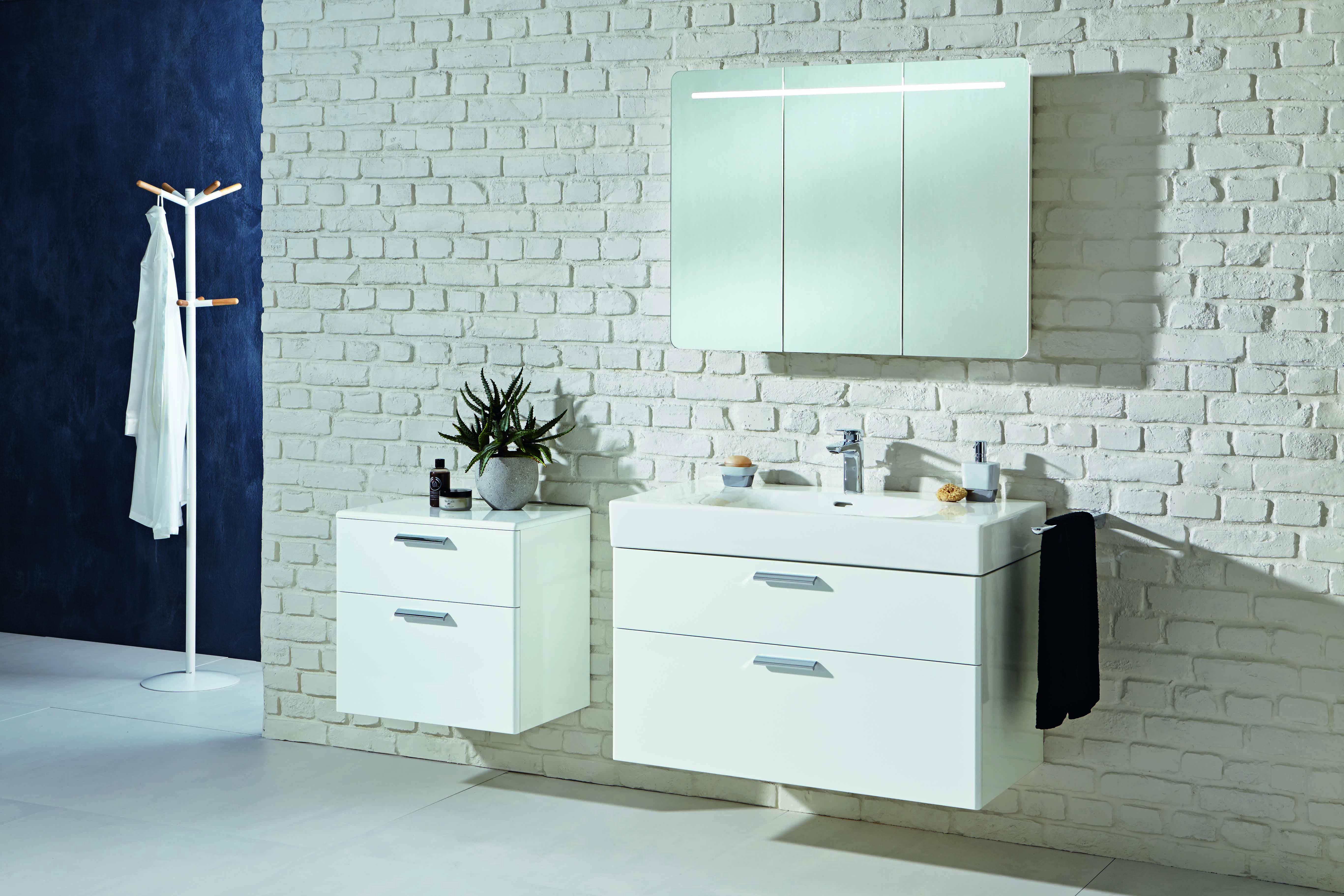 Vigour White Badmobel Badezimmer Spiegelschrank Badgestaltung