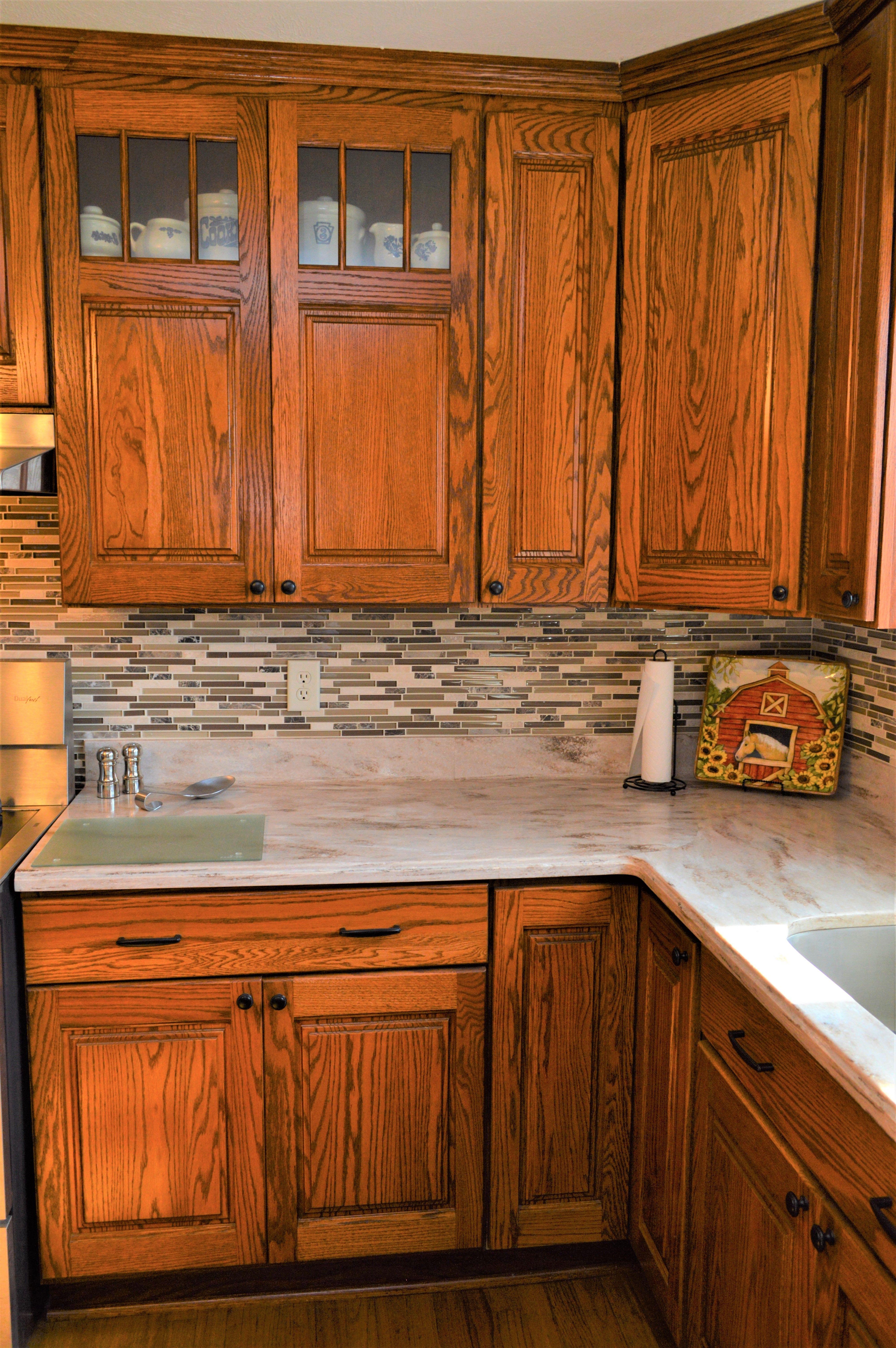 Haas Signature Augusta Door Style Pecan Oak Elegant Kitchen Decor Kitchen Remodel Kitchen Renovation