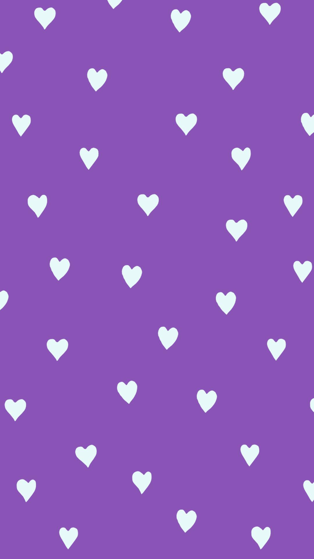 Tapet Purple Hearts Af Gocase In 2020 Purple Wallpaper Purple Wallpaper Iphone Heart Iphone Wallpaper