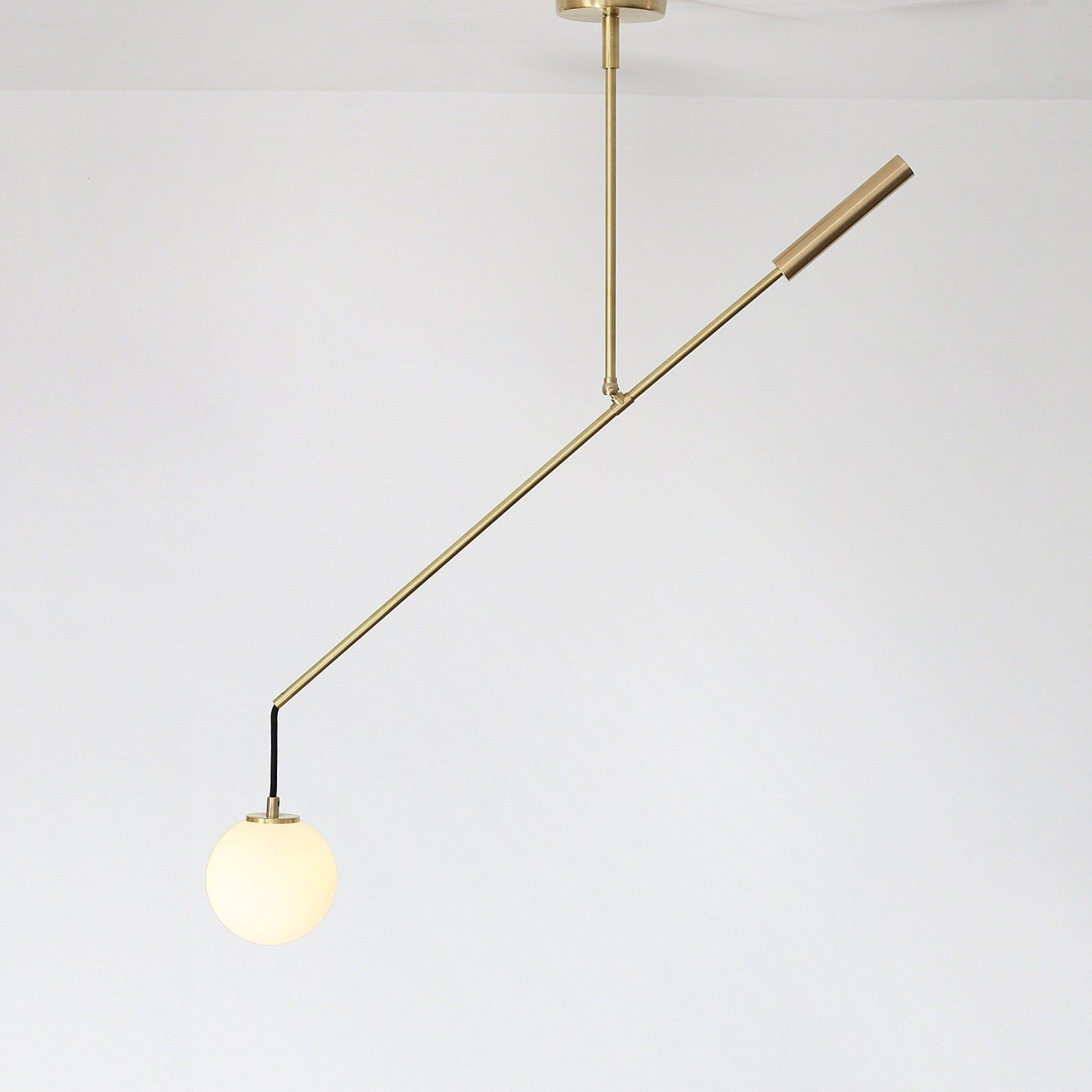 Modern Counterbalance Pendant Lamp Made Of Solid Brass Ceiling Lamp Balance Lamp Bl011 In 2020 Ceiling Lamp Pendant Lamp Lamp