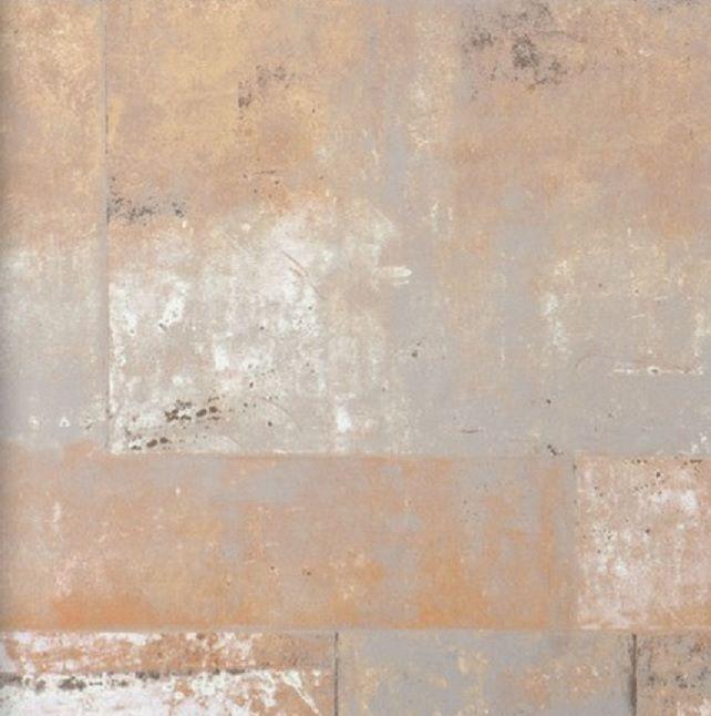 Vlies Tapete 47214 Stein Muster Bruchstein Terracotta