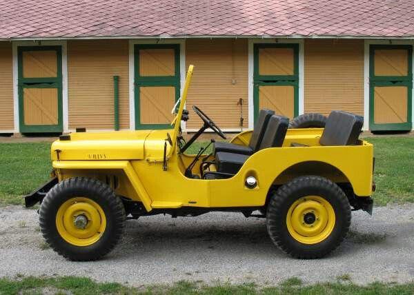 Willys Cj3a Jeep Cj Willys Jeep Willys