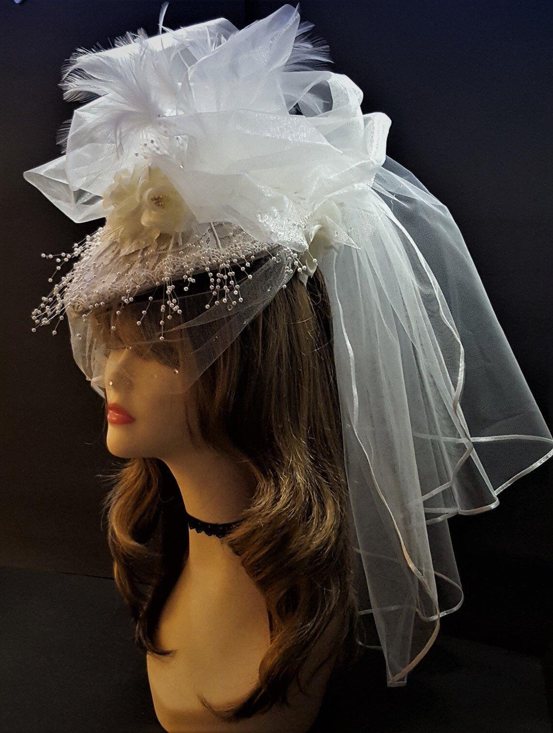 35++ Wedding bride hat with veil ideas